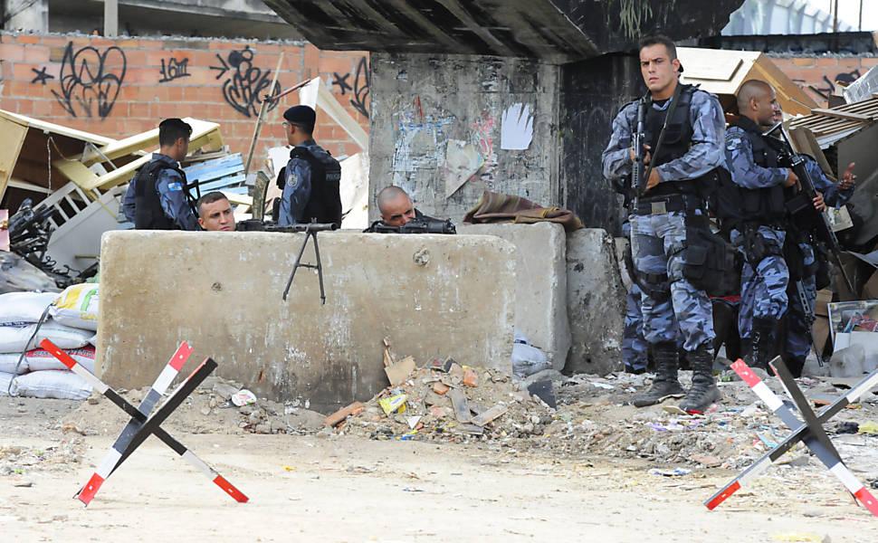 Ocupação do complexo da Maré, no Rio
