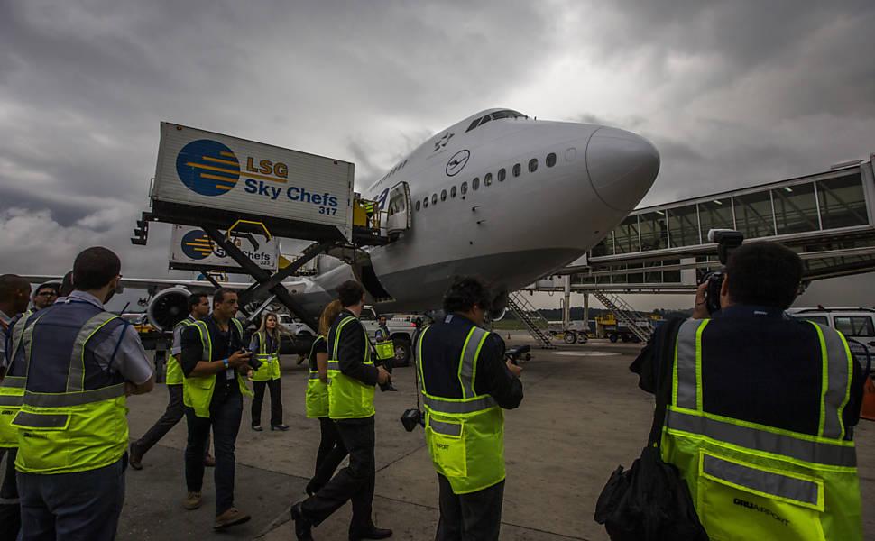 Superjumbo Boeing 747-8
