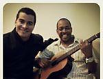 Com o produtor musical Wilson Prateado