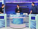 Silvio Santos e Danilo Gentili