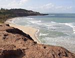 Praia do Amor, que faz parte do complexo de praias de Pipa, no Rio Grande do Norte