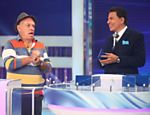 Silvio Santos recebe Silvio Luiz em seu programa