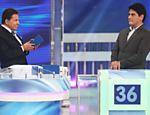 Silvio Santos recebe César Filho em seu programa