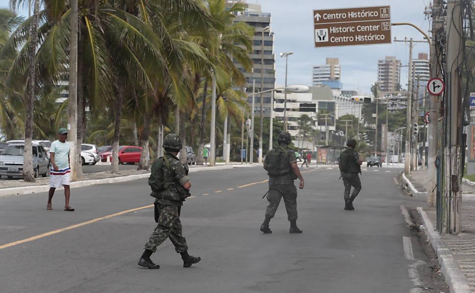 Greve da PM na Bahia