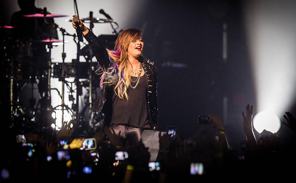 Demi Lovato em SP