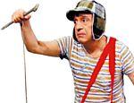 O comediante mexicano Roberto Gómez Bolaños no papel de Chaves
