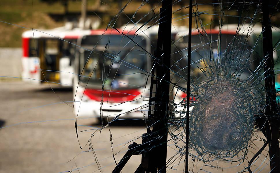 Huelga de transporte en Río