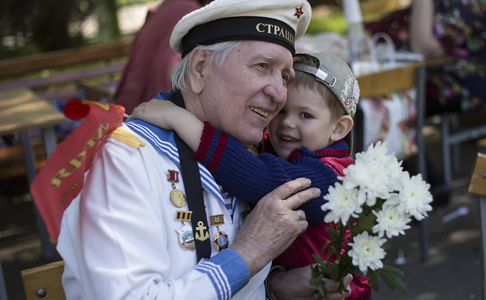 Desfile de 9 de maio no Kremlin