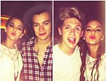 Bruna Marquezine posta fotos com meninos integrantes do One Direction
