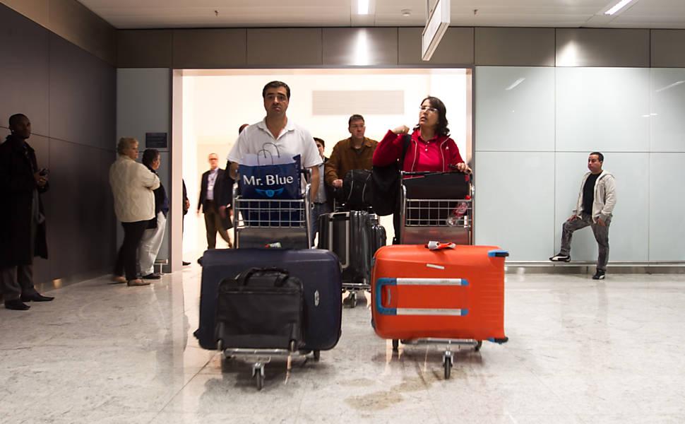 Novo terminal do aeroporto de Guarulhos