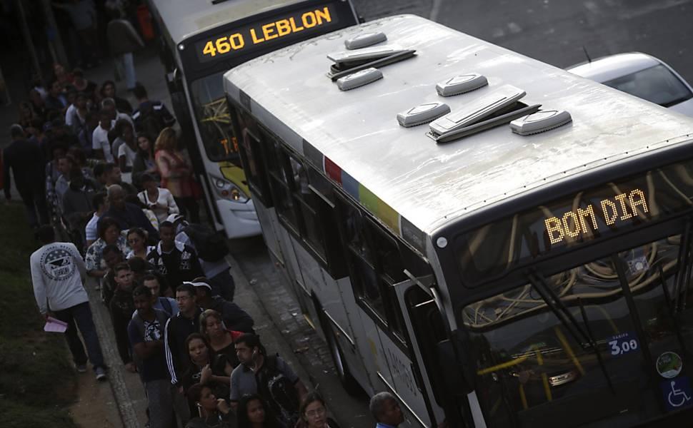Greve dos motoristas e cobradores no Rio
