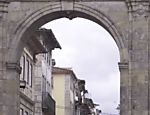 Uma das antigas portas de entrada para Braga, em Portugal