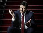 Retrato do comediante e apresentador de Danilo Gentili