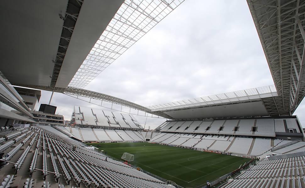 Os 12 estádios usados na Copa de 2014