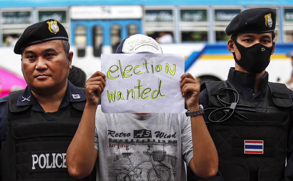 Golpe militar na Tailândia