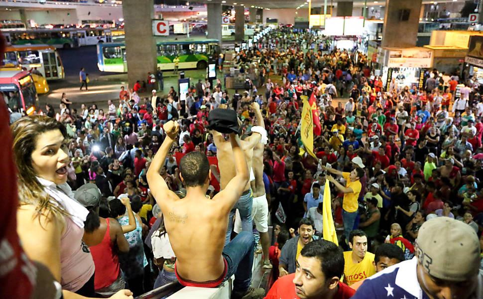 Protestos em Brasília (27/5)