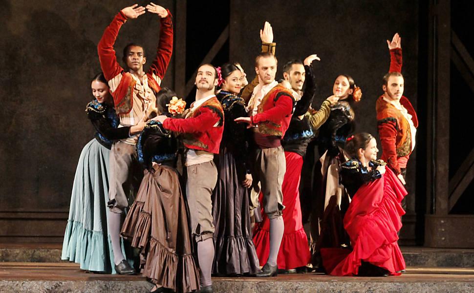 Ópera 'Carmen' no Theatro Municipal, em 2014