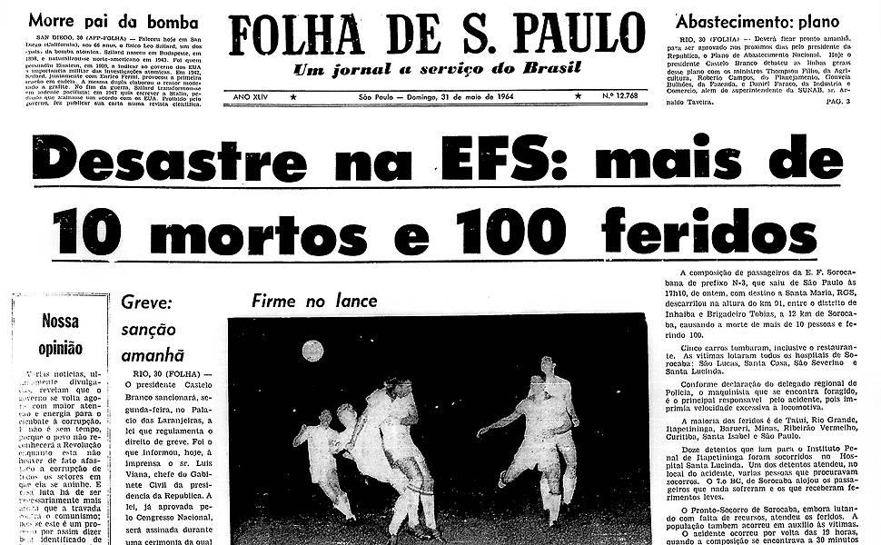 Há 50 anos - Maio