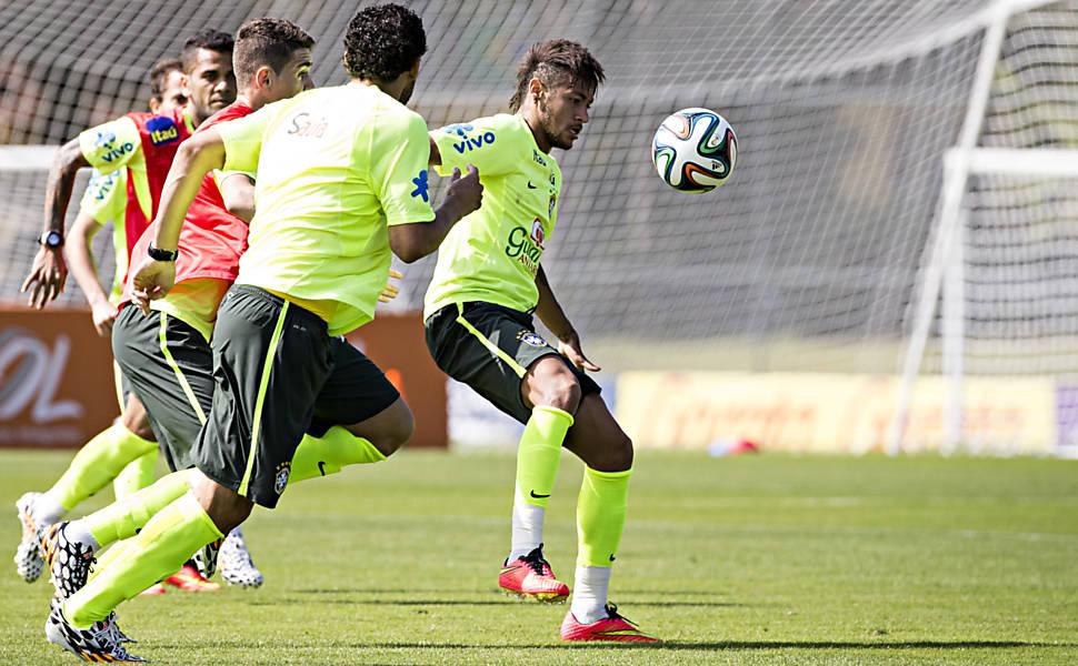 Concentração da seleção brasileira - 7º dia