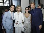 Cleo Pires tieta Jane Fonda em evento em Los Angeles