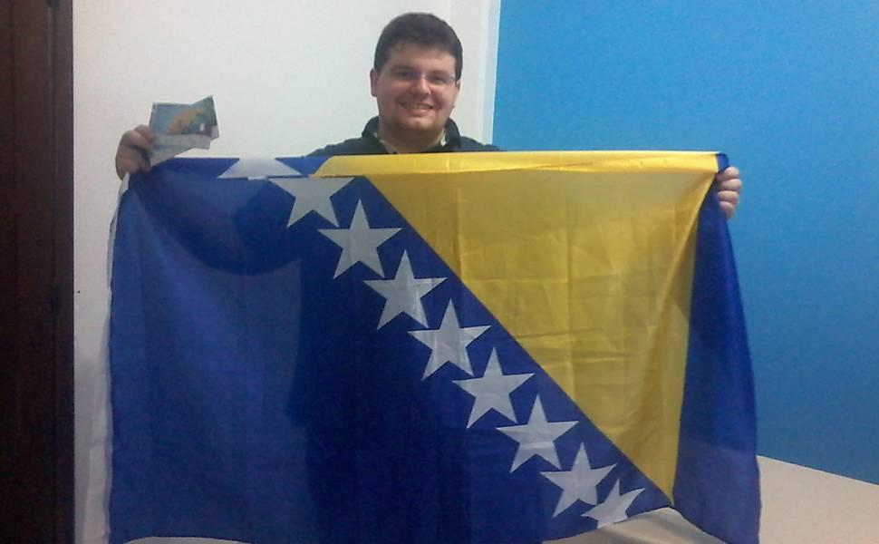 Um bósnio em Salvador