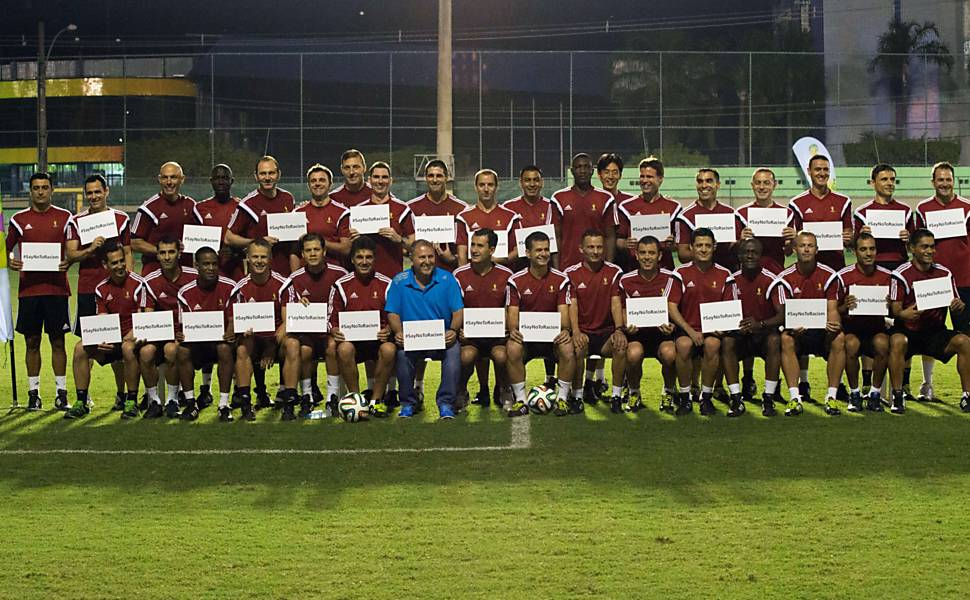 Treinamento dos árbitros da Copa do Mundo