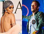 Chris Martin e Rihanna são vistos juntos jantando em restaurante em Santa Mônica