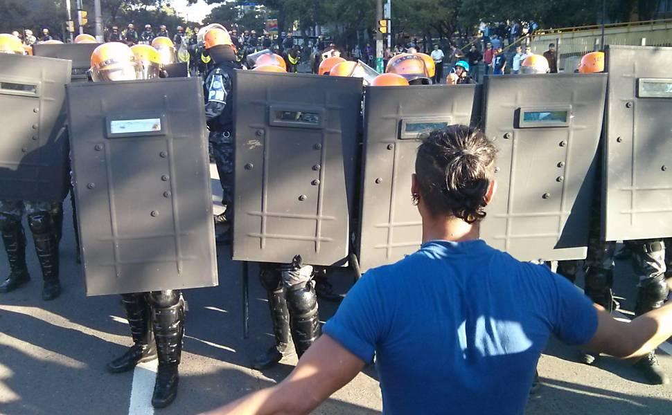 Protesto anti-Copa em Porto Alegre