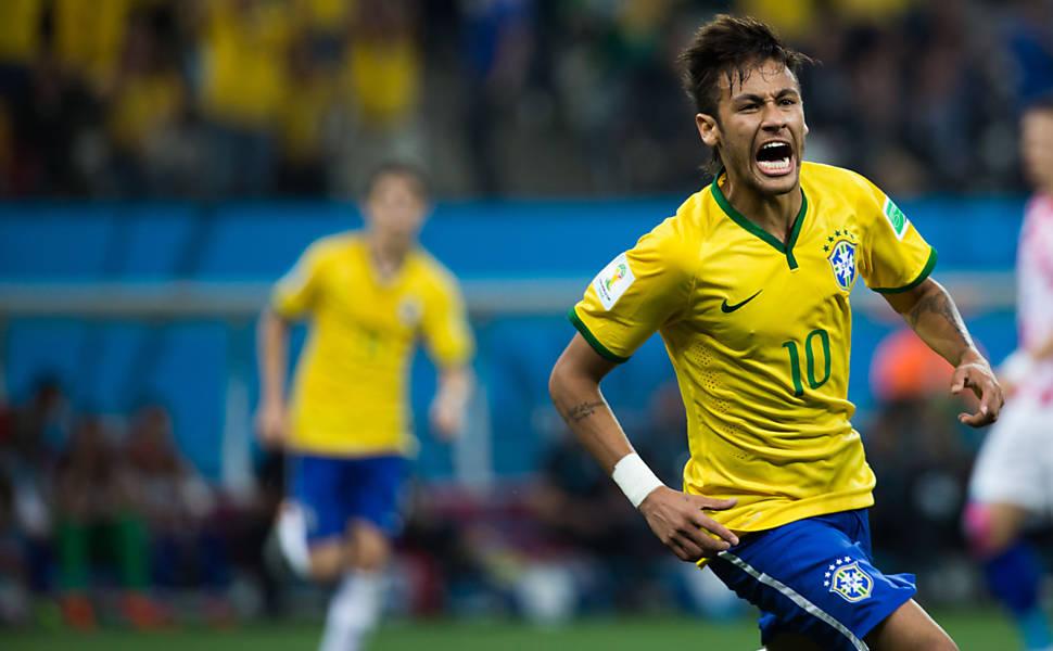 Brasil x Croácia no Facebook