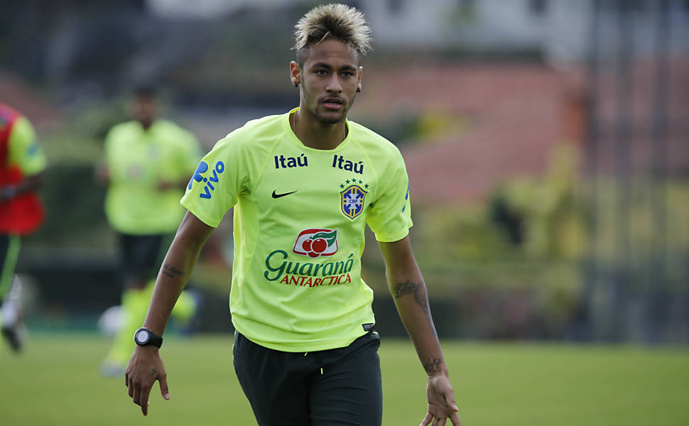 Cabelos de Neymar