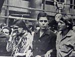 Chico Buarque e Arduino Colassanti participam da Passeata dos Cem Mil, no Rio, em 1968