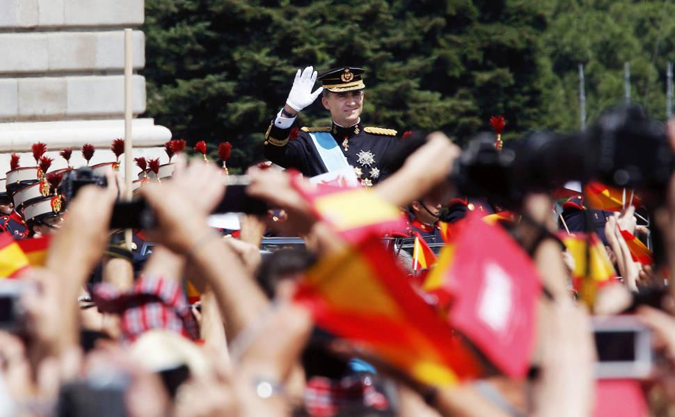 Coroação do novo rei da Espanha