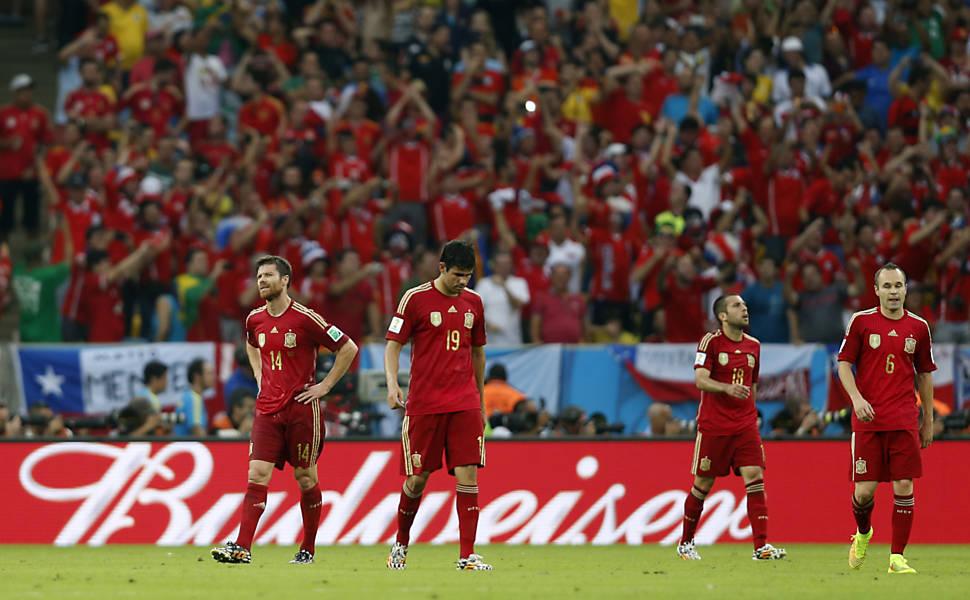 Espanha x Chile
