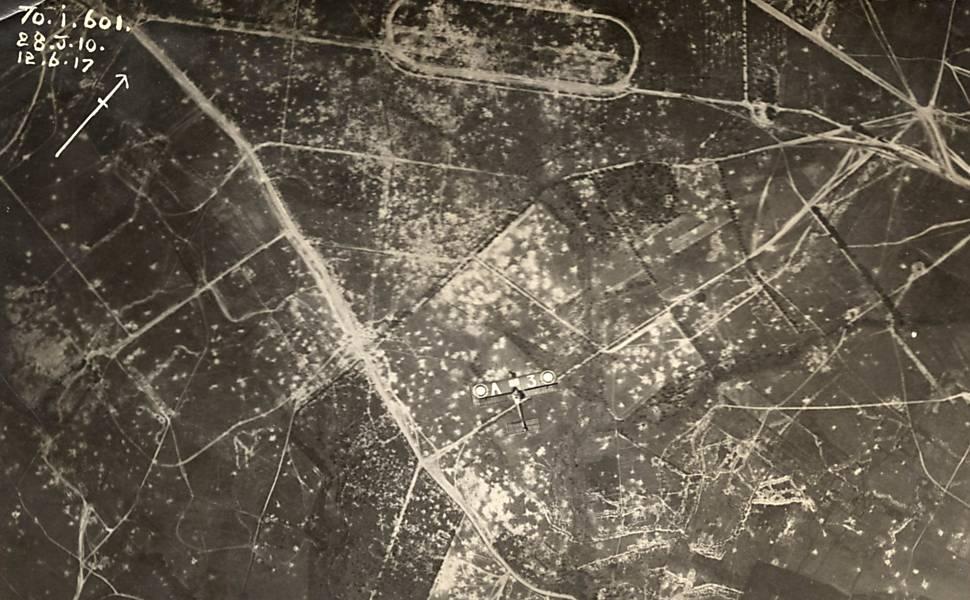 Fotos inéditas da Primeira Guerra Mundial