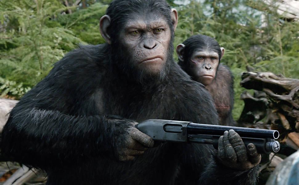 """Planeta dos Macacos - O Confronto"""