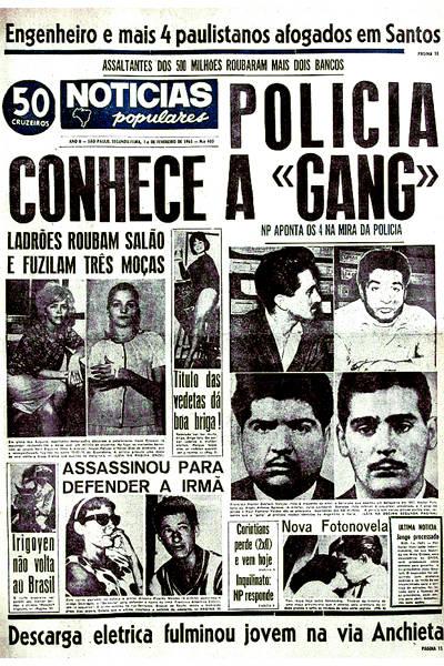 Assalto ao Banco Moreira Salles no NP