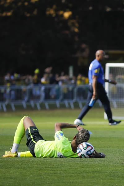 Treino da seleção brasileira - 02.jul.14