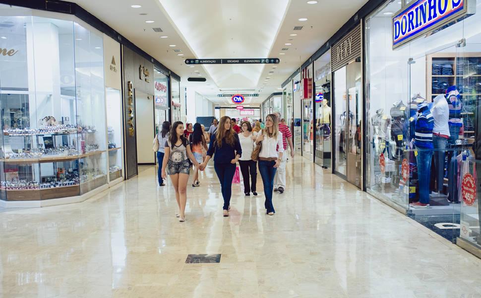 Descontos em shoppings chegam a 90%
