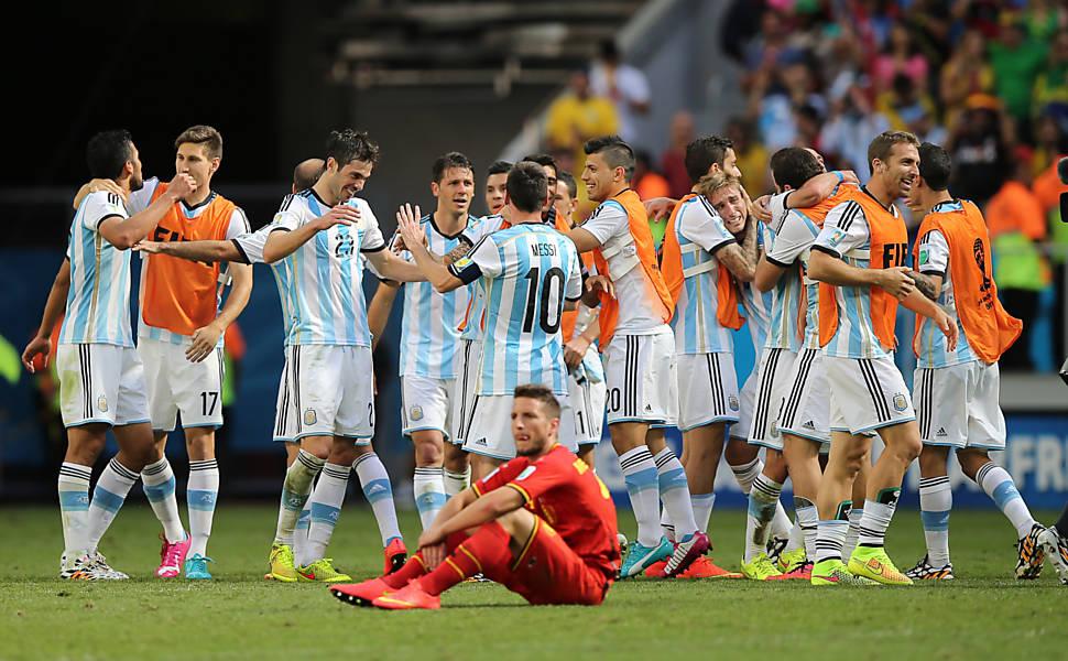 Argentina x Bélgica
