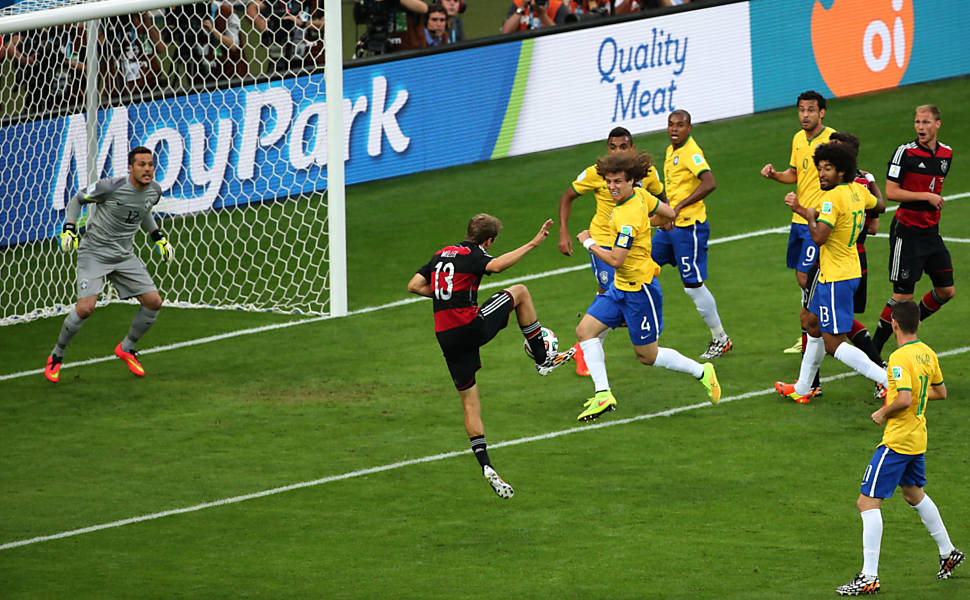 Brasil x Alemanha em dez fotos