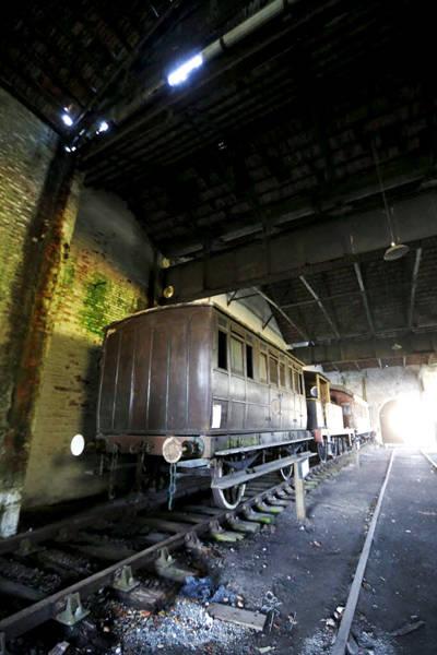 Trens históricos abandonados