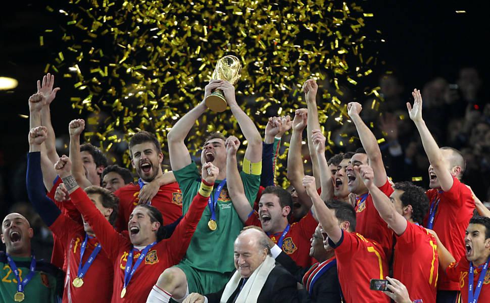 Campeões das Copas do Mundo