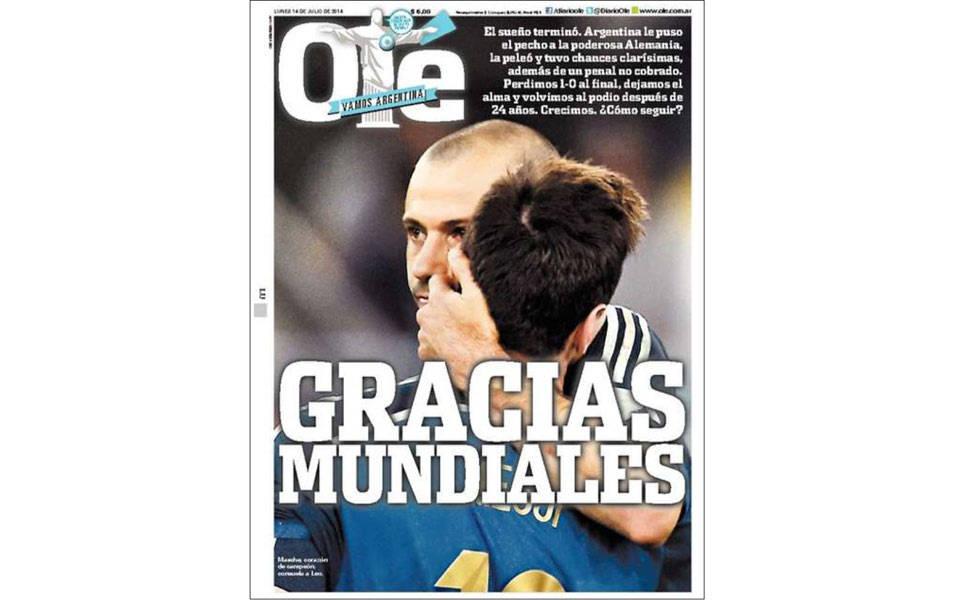 Jornais estrangeiros repercutem a final da Copa