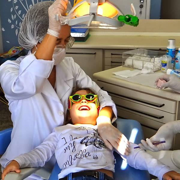 Primeira ida ao dentista