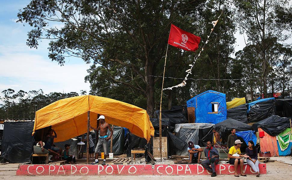 Ocupação do MTST em Itaquera