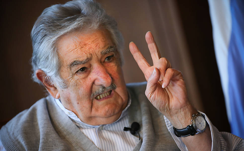 José Mujica, durante entrevista em 2014