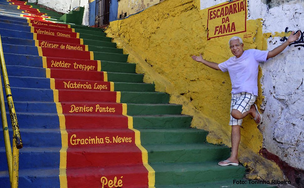 Agitador muda favela