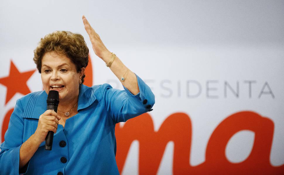 Dilma participa de encontro de campanha do governador do Rio, Luiz Fernando Pezão