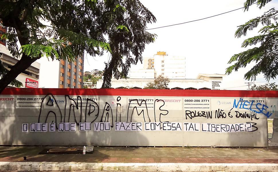 Pagode e arte de rua em Vitória