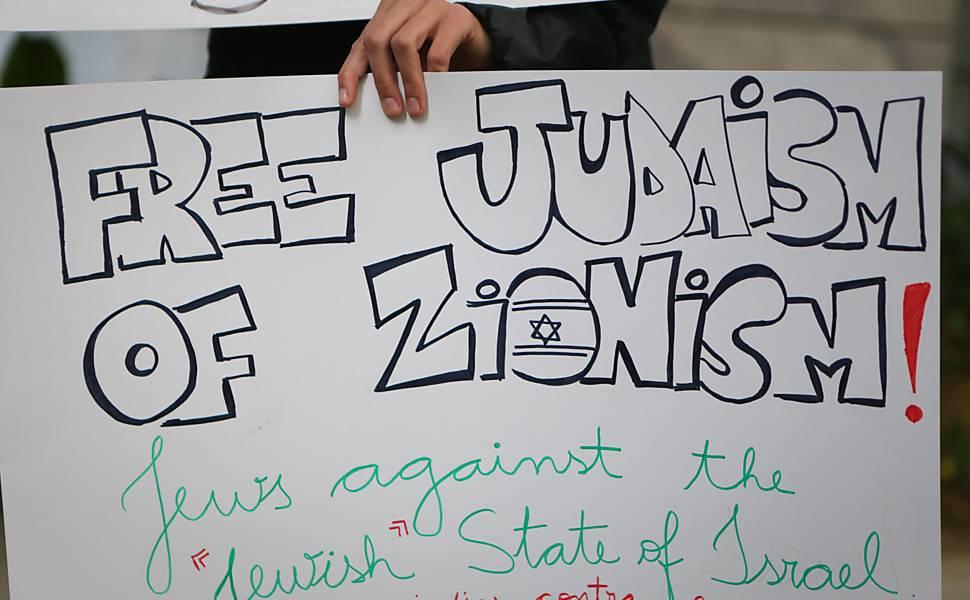 Protesto de judeus